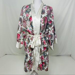 Women's One Size Vintage VS Floral Robe / Gown